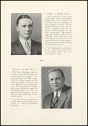 Page 17, 1935 Edition, Muscatine High School - Auroran Yearbook (Muscatine, IA) online yearbook collection