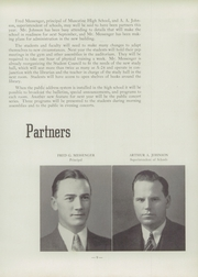 Page 13, 1939 Edition, Muscatine High School - Auroran Yearbook (Muscatine, IA) online yearbook collection