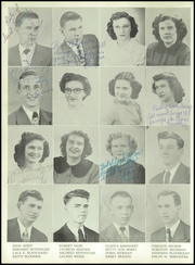 Page 74, 1950 Edition, Muscatine High School - Auroran Yearbook (Muscatine, IA) online yearbook collection