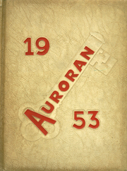 Muscatine High School - Auroran Yearbook (Muscatine, IA) online yearbook collection, 1953 Edition, Page 1