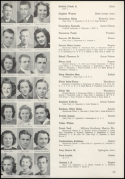 Page 14, 1940 Edition, Marshalltown High School - Postscript Yearbook (Marshalltown, IA) online yearbook collection