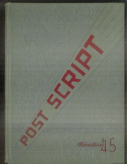 Page 1, 1945 Edition, Marshalltown High School - Postscript Yearbook (Marshalltown, IA) online yearbook collection