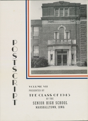 Page 5, 1945 Edition, Marshalltown High School - Postscript Yearbook (Marshalltown, IA) online yearbook collection
