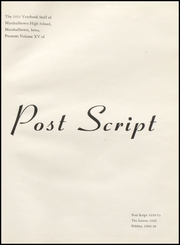 Page 5, 1953 Edition, Marshalltown High School - Postscript Yearbook (Marshalltown, IA) online yearbook collection