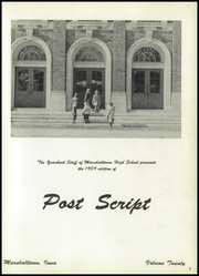 Page 7, 1959 Edition, Marshalltown High School - Postscript Yearbook (Marshalltown, IA) online yearbook collection