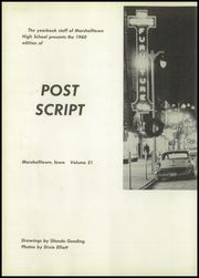 Page 6, 1960 Edition, Marshalltown High School - Postscript Yearbook (Marshalltown, IA) online yearbook collection