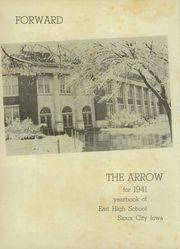 Page 8, 1941 Edition, East High School - Arrow Yearbook (Sioux City, IA) online yearbook collection
