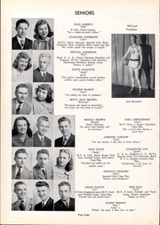 Page 14, 1948 Edition, East High School - Arrow Yearbook (Sioux City, IA) online yearbook collection