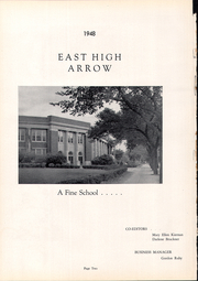 Page 6, 1948 Edition, East High School - Arrow Yearbook (Sioux City, IA) online yearbook collection