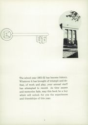 Page 8, 1952 Edition, East High School - Arrow Yearbook (Sioux City, IA) online yearbook collection