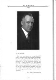 Page 12, 1930 Edition, Newton High School - Newtonia Yearbook (Newton, IA) online yearbook collection