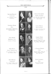Page 14, 1930 Edition, Newton High School - Newtonia Yearbook (Newton, IA) online yearbook collection