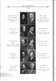 Page 16, 1930 Edition, Newton High School - Newtonia Yearbook (Newton, IA) online yearbook collection