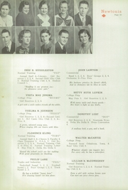 Page 24, 1935 Edition, Newton High School - Newtonia Yearbook (Newton, IA) online yearbook collection