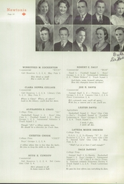 Page 29, 1935 Edition, Newton High School - Newtonia Yearbook (Newton, IA) online yearbook collection