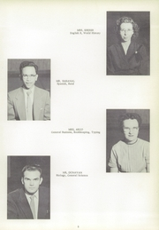 Page 9, 1954 Edition, Urbandale High School - Echo Yearbook (Urbanville, IA) online yearbook collection