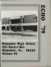 Page 7, 1979 Edition, Urbandale High School - Echo Yearbook (Urbanville, IA) online yearbook collection