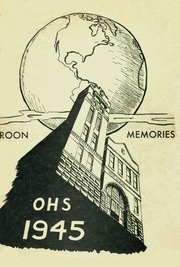 1945 Edition, Oskaloosa High School - Maroon Memories Yearbook (Oskaloosa, IA)