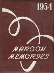 1954 Edition, Oskaloosa High School - Maroon Memories Yearbook (Oskaloosa, IA)