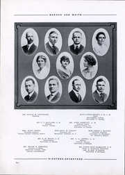 Page 12, 1917 Edition, Central High School - Maroon and White Yearbook (Sioux City, IA) online yearbook collection