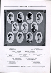 Page 13, 1917 Edition, Central High School - Maroon and White Yearbook (Sioux City, IA) online yearbook collection
