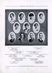 Page 16, 1917 Edition, Central High School - Maroon and White Yearbook (Sioux City, IA) online yearbook collection