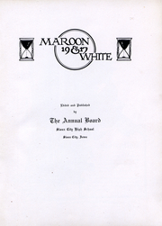 Page 3, 1917 Edition, Central High School - Maroon and White Yearbook (Sioux City, IA) online yearbook collection