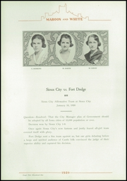 Page 116, 1920 Edition, Central High School - Maroon and White Yearbook (Sioux City, IA) online yearbook collection