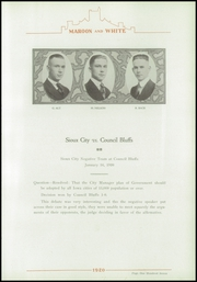 Page 117, 1920 Edition, Central High School - Maroon and White Yearbook (Sioux City, IA) online yearbook collection