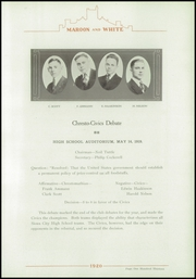 Page 123, 1920 Edition, Central High School - Maroon and White Yearbook (Sioux City, IA) online yearbook collection