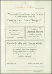 Page 219, 1920 Edition, Central High School - Maroon and White Yearbook (Sioux City, IA) online yearbook collection