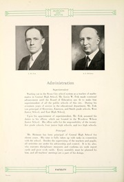 Page 24, 1931 Edition, Central High School - Maroon and White Yearbook (Sioux City, IA) online yearbook collection