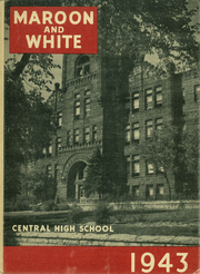 1943 Edition, Central High School - Maroon and White Yearbook (Sioux City, IA)