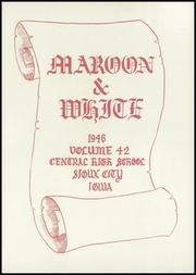 Page 7, 1946 Edition, Central High School - Maroon and White Yearbook (Sioux City, IA) online yearbook collection
