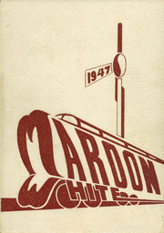 1947 Edition, Central High School - Maroon and White Yearbook (Sioux City, IA)