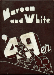 1949 Edition, Central High School - Maroon and White Yearbook (Sioux City, IA)