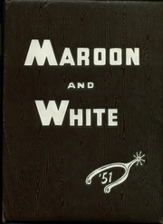 1951 Edition, Central High School - Maroon and White Yearbook (Sioux City, IA)
