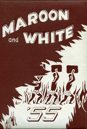1955 Edition, Central High School - Maroon and White Yearbook (Sioux City, IA)