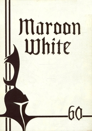 1960 Edition, Central High School - Maroon and White Yearbook (Sioux City, IA)