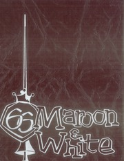 1966 Edition, Central High School - Maroon and White Yearbook (Sioux City, IA)