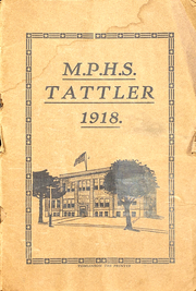 Mount Pleasant High School - Tattler Yearbook (Mount Pleasant, IA) online yearbook collection, 1918 Edition, Page 1