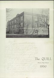 Page 7, 1950 Edition, Marion High School - Quill Yearbook (Marion, IA) online yearbook collection