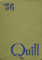 1956 Edition, Marion High School - Quill Yearbook (Marion, IA)