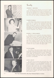 Page 10, 1951 Edition, Creston High School - Crest Yearbook (Creston, IA) online yearbook collection