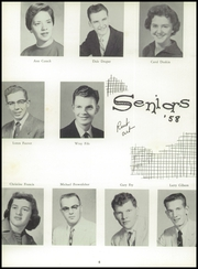 Page 10, 1958 Edition, Creston High School - Crest Yearbook (Creston, IA) online yearbook collection