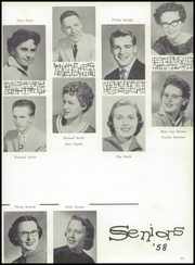 Page 15, 1958 Edition, Creston High School - Crest Yearbook (Creston, IA) online yearbook collection