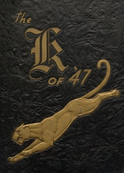 1947 Edition, Knoxville High School - K Yearbook (Knoxville, IA)