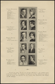 Page 11, 1929 Edition, Centerville High School - Black Diamond Yearbook (Centerville, IA) online yearbook collection