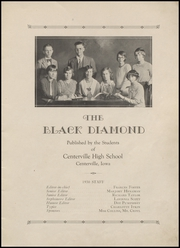 Page 9, 1930 Edition, Centerville High School - Black Diamond Yearbook (Centerville, IA) online yearbook collection