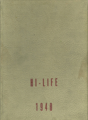 1940 Edition, Washington High School - Hi Life Yearbook (Washington, IA)